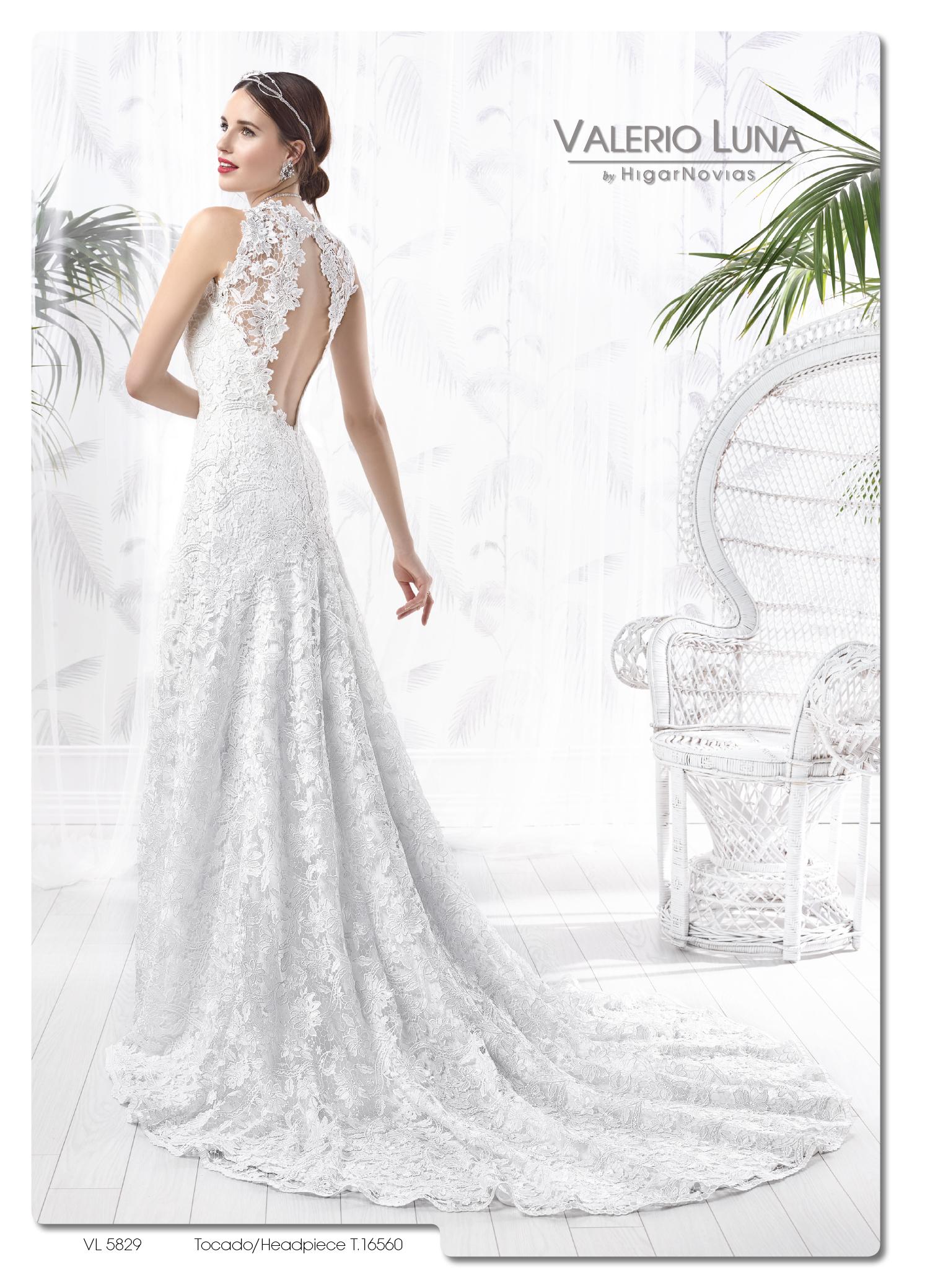 Vestidos de novia valerio luna 2016